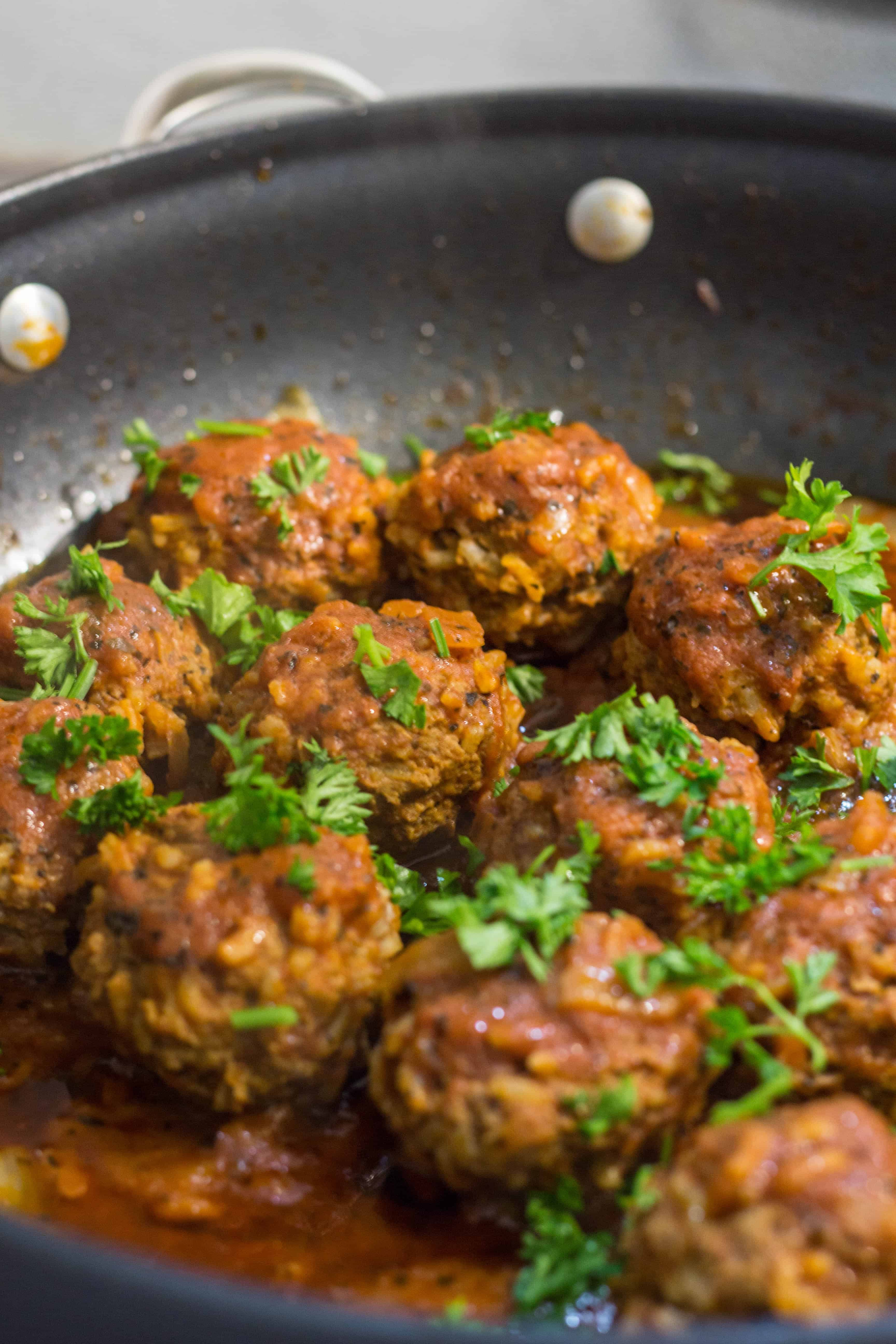 These Meatballs with Rice Tefteli is a perfect 30 minutes comfort meal recipe! Easy to make, it will be your family favorite!