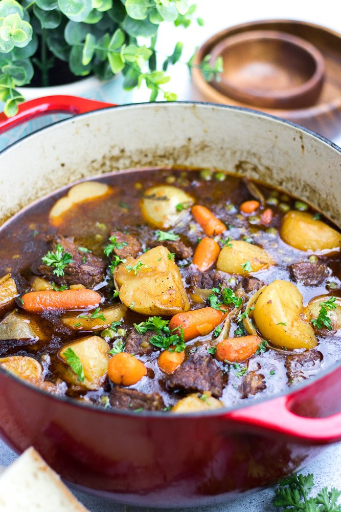 Dutch Oven Beef Stew Veronika S Kitchen