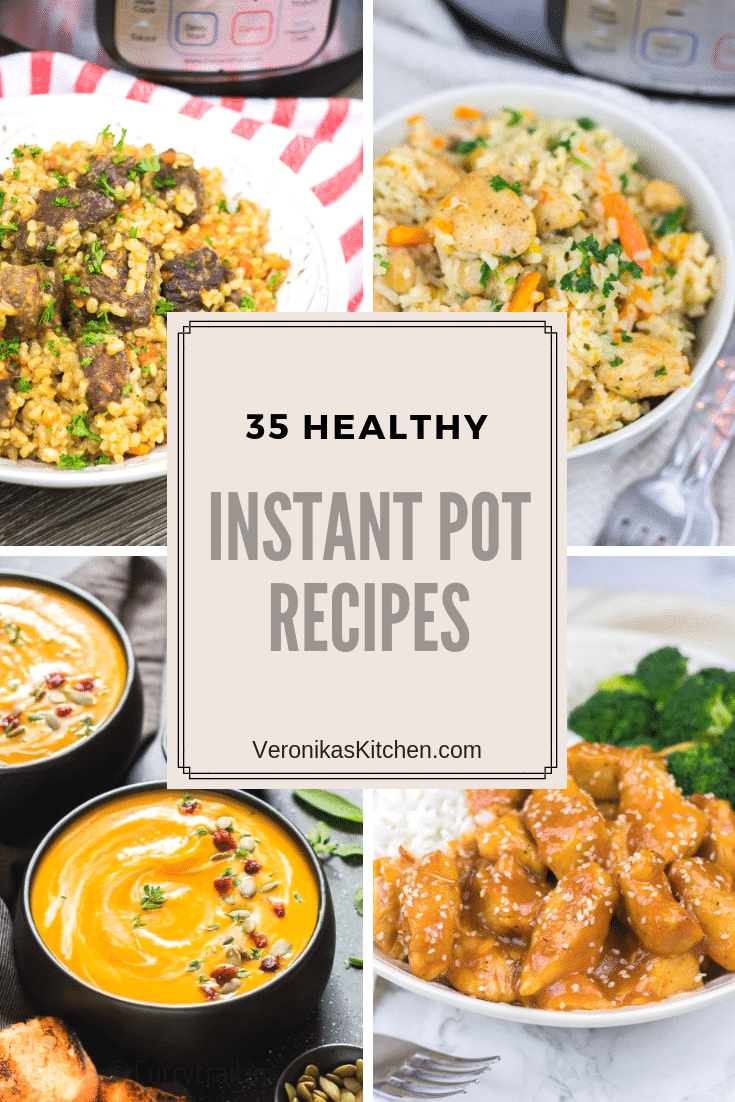 35 Healthy Instant Pot Recipes