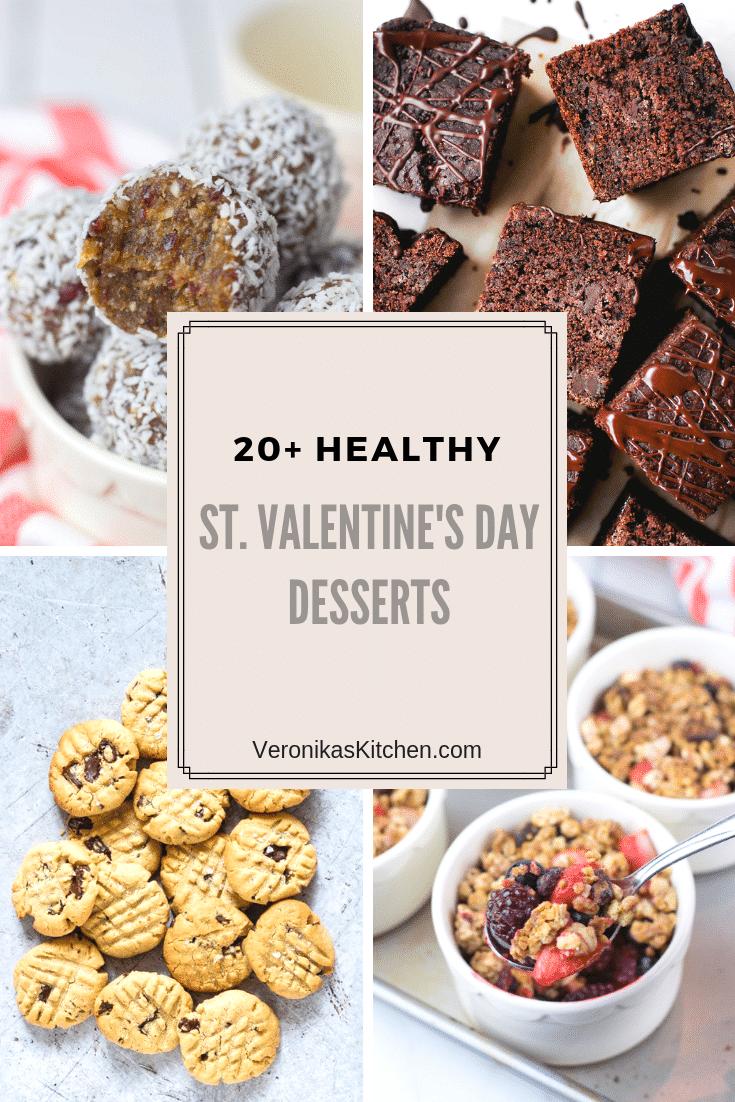 Healthy St. Valentine's Day Desserts