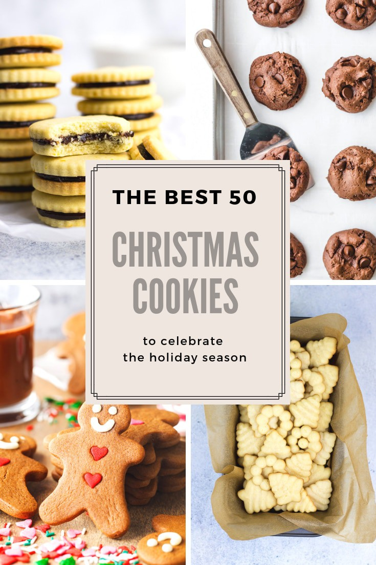 50 Christmas Cookies Ideas Veronika S Kitchen