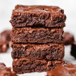 A close up photo of Brownies