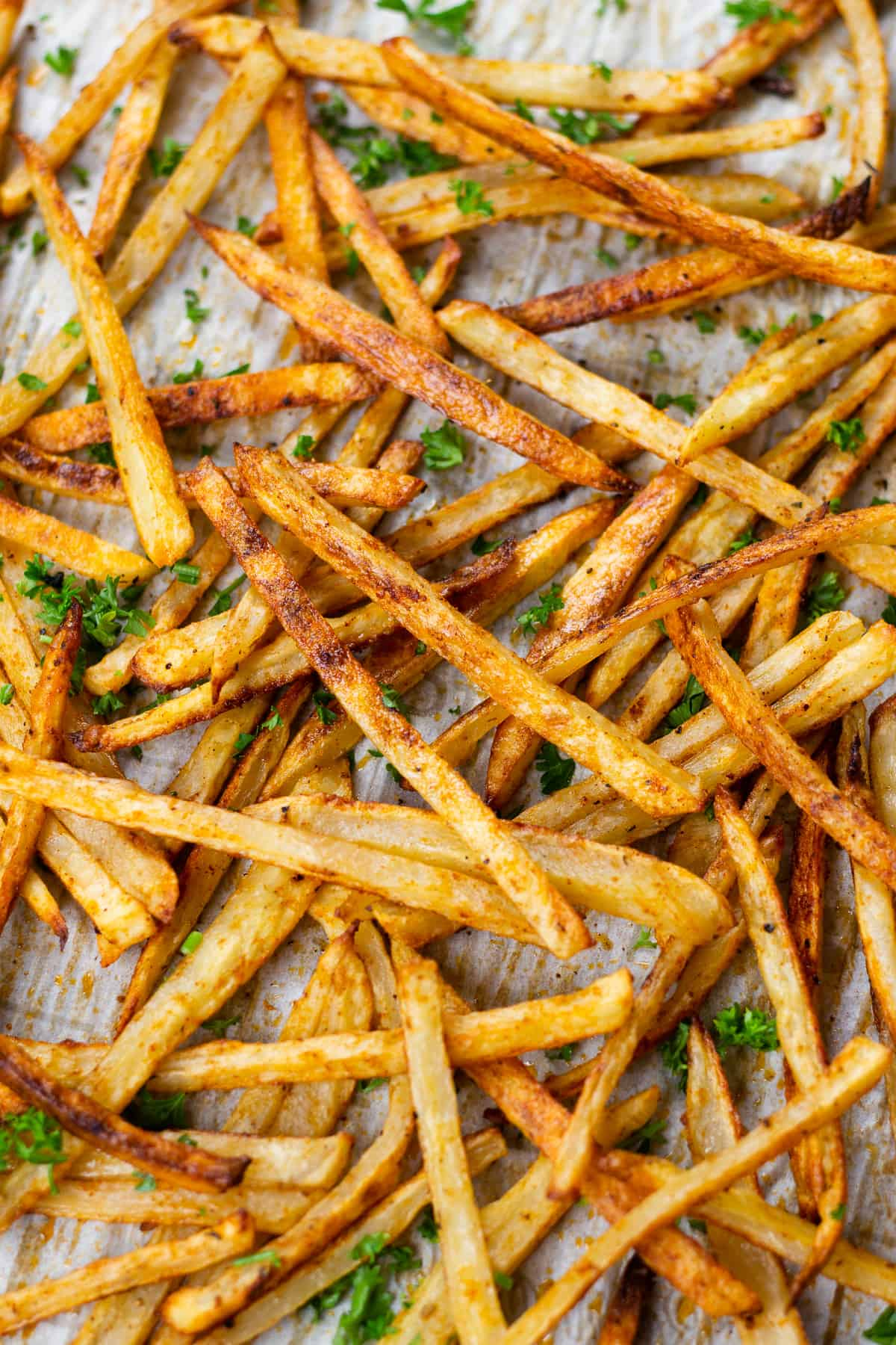 Oven Baked Fries | Veronika's Kitchen